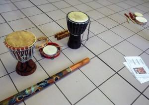 Instruments  kirtans