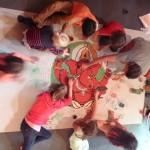 mandala des enfants au festival