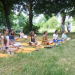 Séance yoga journée mondiale du yoga